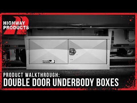 Highway Products | Double Door Underbody Semi Truck Box