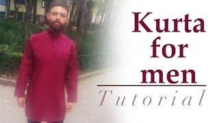 Kurta for Men - Cutting and stitching - Cloud factory