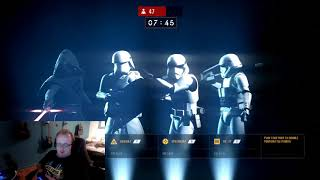 Star wars battlefront Preload Gameplay My Literal First time playing the game