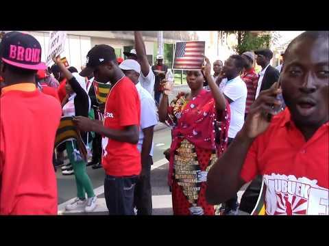 #TogoDebout: Pour la diaspora, il faut accentuer la lutte populaire jusqu'au depart de Faure