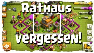 RATHAUS VERGESSEN! - RH7 STATUS | Clash of Clans Deutsch [German] | Let´s Play COC