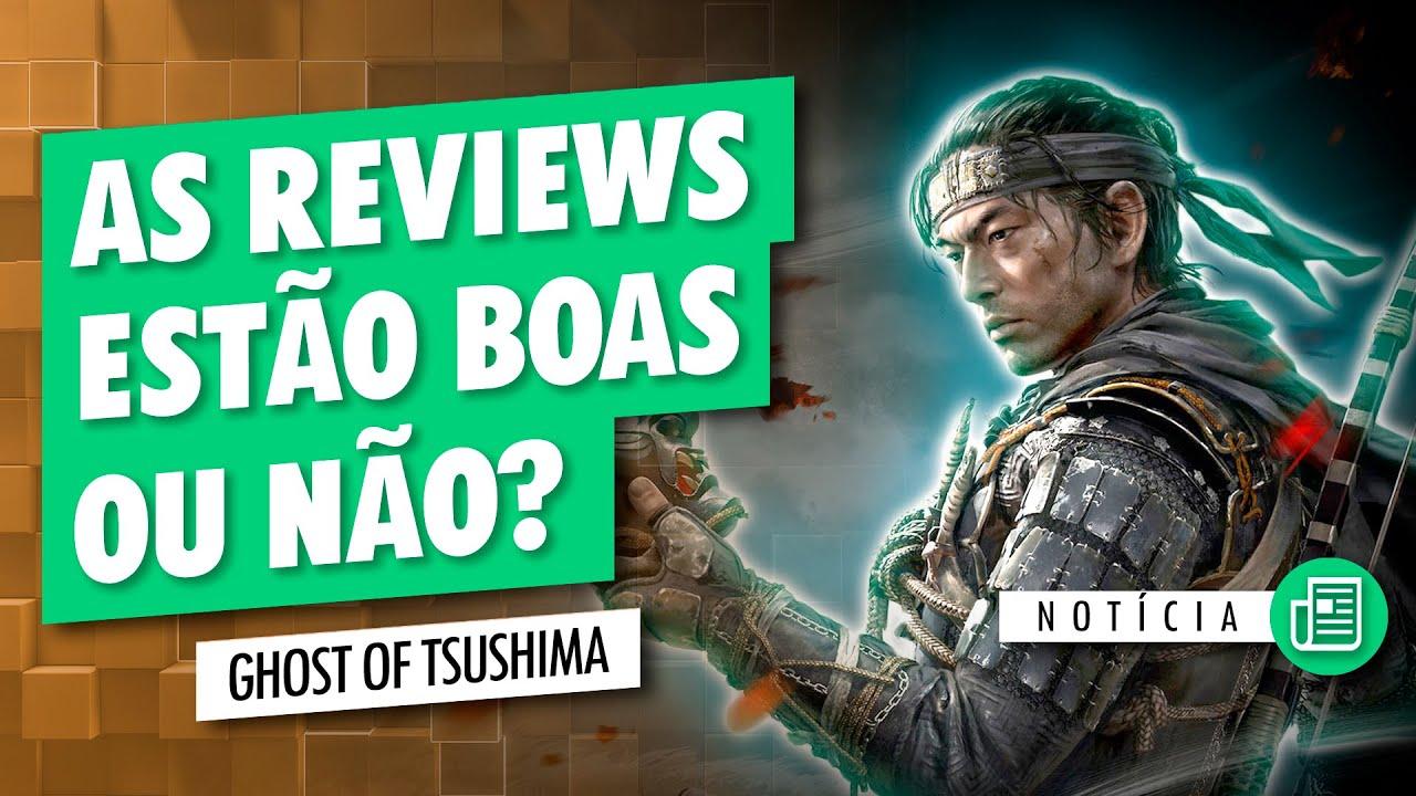 O QUE A MÍDIA TEM FALADO DE GHOST OF TSUSHIMA
