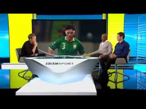 Dan Walker TV chats to England player Sinclair and  Ireland  Kevin