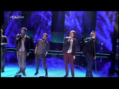 Take That   The Flood HD live 26 11 2010 @ The Voice Of Holland