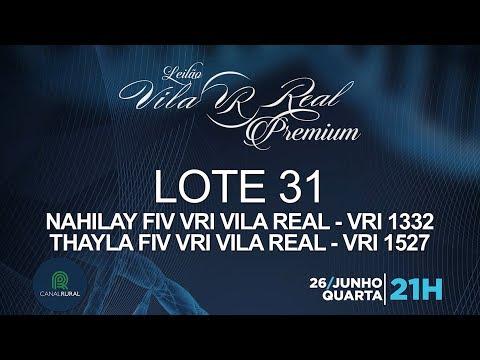 LOTE 31 (VRI 1332/VRI 1527)