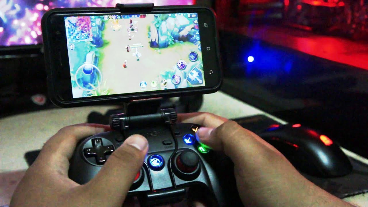 how to play mobile legends or other moba games with gamesir gamepad | step by step tutorial|
