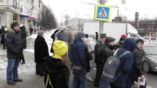 Обманутые дольщики Ивановской ДСК (СУ155) вышли на дорогу