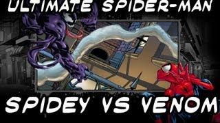 Ultimate Spider-man - Spidey vs Venom Gameplay [HD]