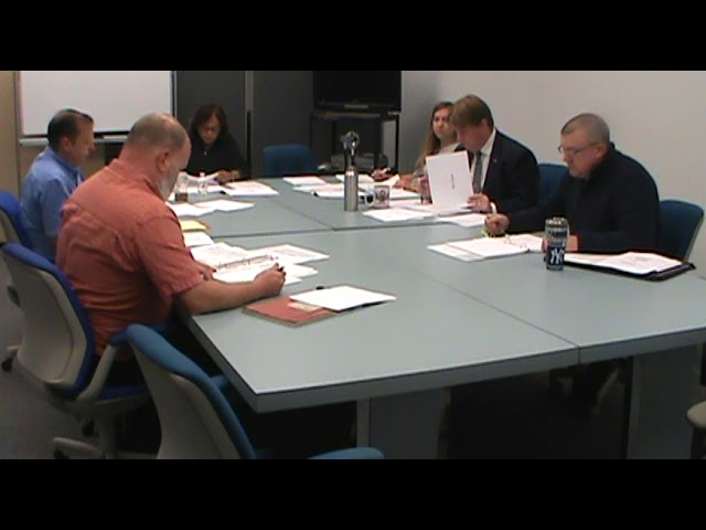 Town of Plattsburgh Budget Meeting  10-13-18