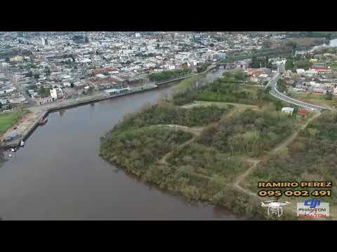 VIDEO DRON, ZONA PUENTE GIRATORIO CARMELO, COLONIA, R O U