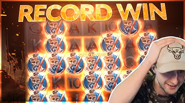 RECORD WIN! Vikings Big win from netent - Casino games from Casinodaddy Live Stream