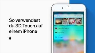 So verwendest du 3DTouch auf einem iPhone  — Apple Support