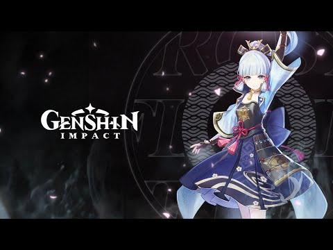 "Character Demo - ""Kamisato Ayaka: Camellia in Winter Snow"" | Genshin Impact"