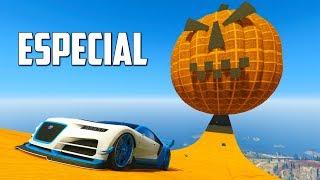 ESPECIAL HALLOWEEN! UNA CALABAZA!! - CARRERA GTA V ONLINE - GTA 5 ONLINE