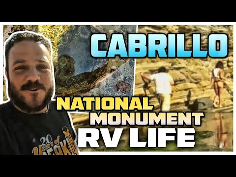 Cabrillo National Monument In San Diego California RV Living Full Time On The Road Tide Pooling
