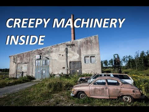 Urban Exploration: Huge Machinery Inside (lot of tools!)