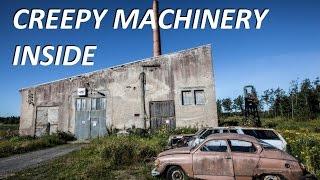 Urban Exploration: Huge Machinery Inside (lot of tools!)