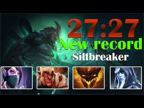 Dota 2 SiltBreaker Record Time 27:27