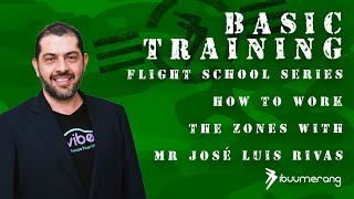 Flight School Basic Training - with Mr. José Luis Rivas - How to Work the Zones