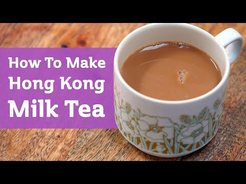 How to make black tea milk