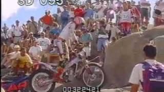 Dirt Bike Various 2 - Dirt Bike Jumps - Rock Climbing - Best Shot Footage - Stock Footage