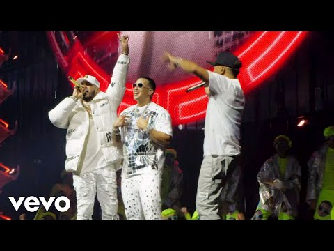 Anuel AA x Daddy Yankee x Ozuna - CHINA (En Vivo)