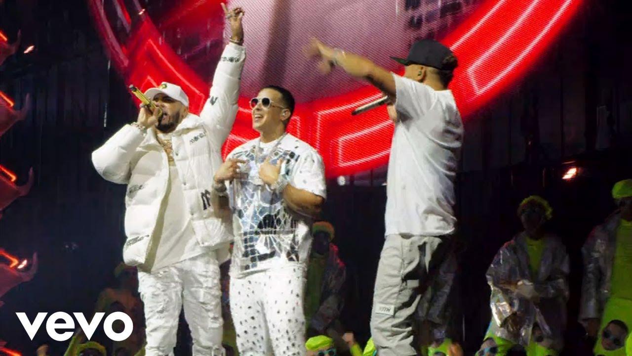 Anuel AA x Daddy Yankee x Ozuna  CHINA En Vivo