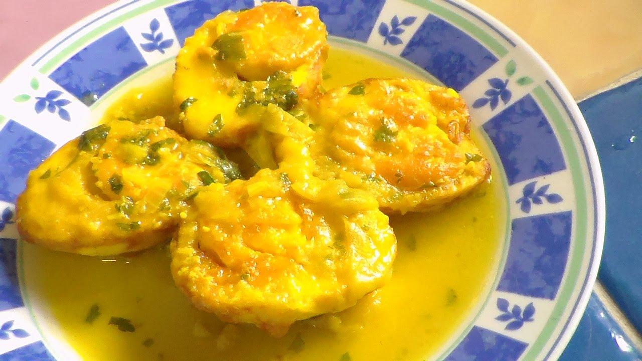 huevo en salsa verde
