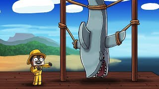 Jaws Movie 3 - I KILLED THE SHARK! (Minecraft Roleplay)