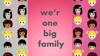maher zain-one big family (Lyric video)