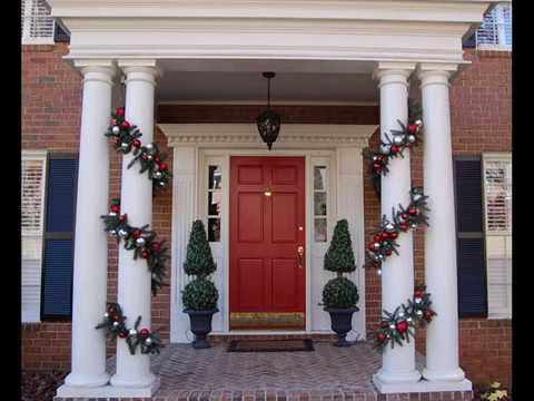 Christmas Decorations Ideas For Your Porch And Front Door Latest & Christmas Decorations Ideas For Your Porch And Front Door Latest ... Pezcame.Com