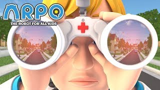 ARPO The Robot For All Kids - Doctor Who? | Compilation | Cartoon for Kids Video