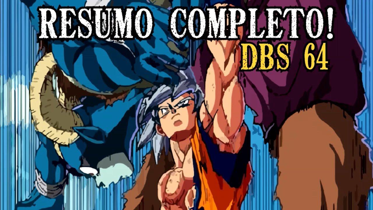 GOKU SUPERA OS DEUSES E MASSACRA MORO! RESUMO COMPLETO DO CAPÍTULO 64 DO MANGÁ DE DRAGON BALL SUPER!