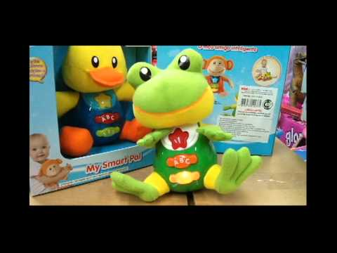 win-fun-my-smart-pal-rana-interactiva-con-luz-y-sonido-para-bebés