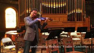 New Philharmonia Orchestra Presents Brahms' Violin Concerto