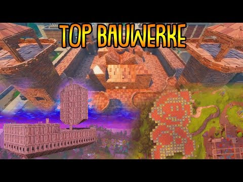 DIE SCHÖNSTEN BAUWERKE! | (Spielwiese Modus) | Top 10 Bauwerke