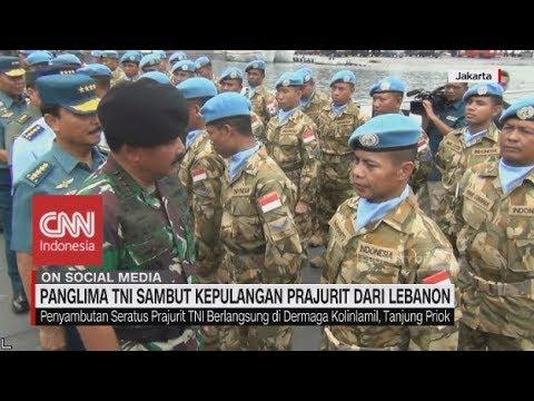 Panglima TNI Sambut Kepulangan Prajurit dari Lebanon Mp3