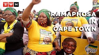 Continuing with their electioneering, ANC executives took their campaign to the Western Cape on 21 October 2021. The party's president, Cyril Ramaphosa, urged residents in Khayelitsha to not repeat the same mistake they made in the previous elections by not going to vote as this would result in them struggling further.  #LGE2021 #YourCityYourVote #ANC #CyrilRamaphosa