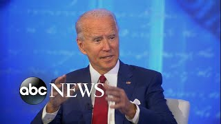 Joe Biden answer how he would have handled the pandemic l ABC News Town Hall