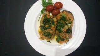 Вкусная рыба с овощами в мультиварке.
