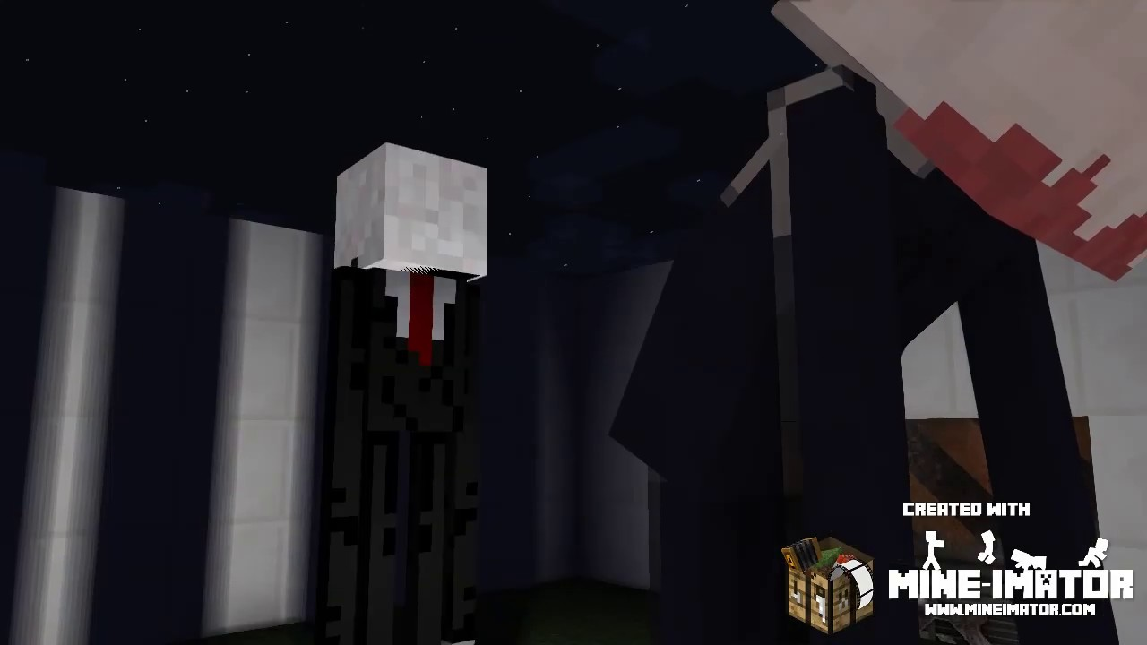 Slender Vs Scp 096 Vs The Rake Minecraft Animation Youtube