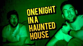 ONE NIGHT IN A HAUNTED HOUSE - SEDAMSVILLE RECTORY