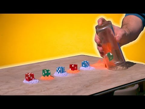 DICE STACKING IN SUPER SLOW MOTION!