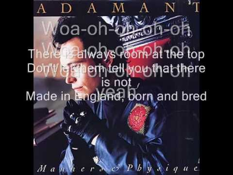 Adam Ant - Room at the Top Lyrics