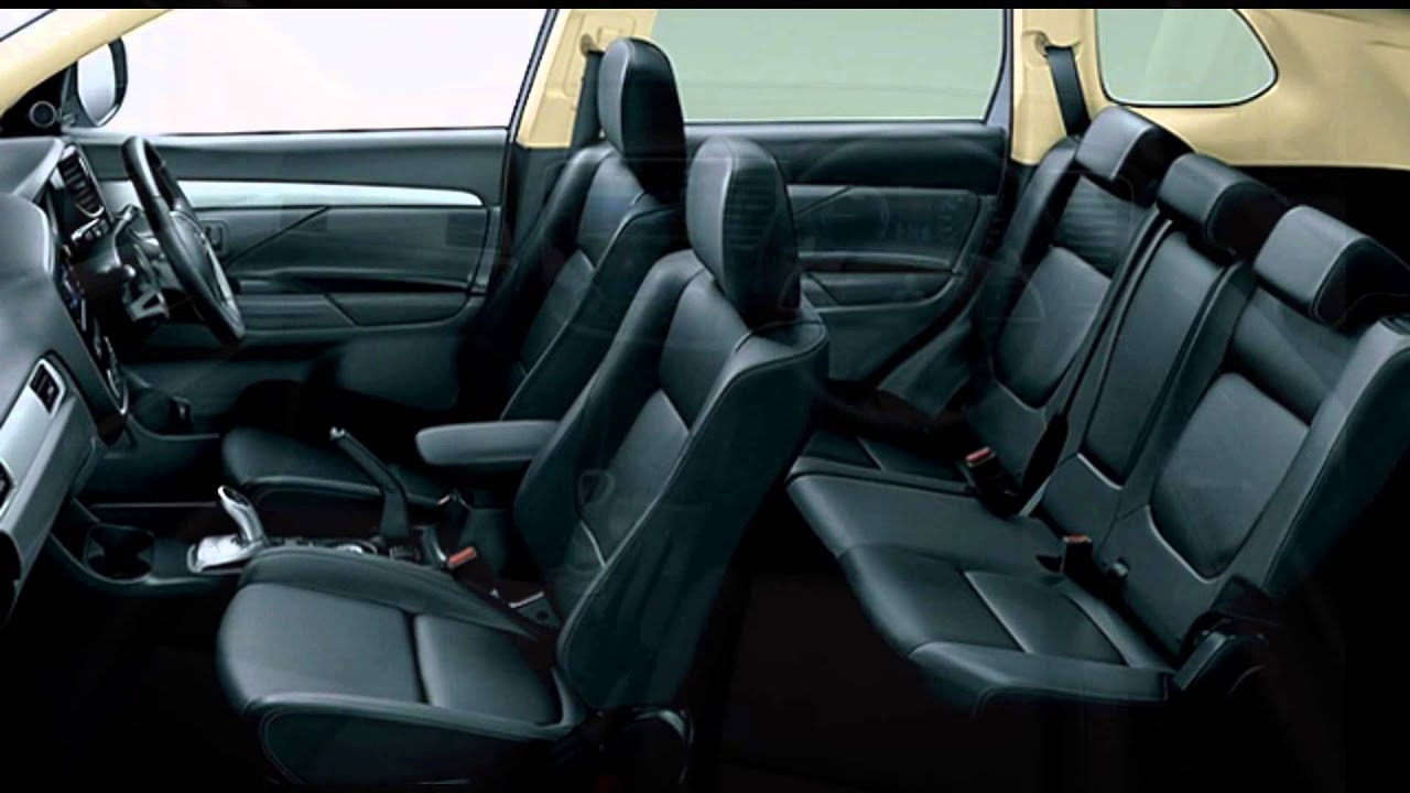 2016 mitsubishi outlander phev interior youtube. Black Bedroom Furniture Sets. Home Design Ideas