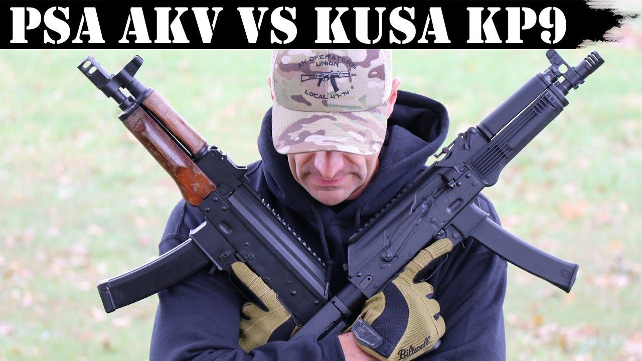 PSA AKV vs KUSA KP9