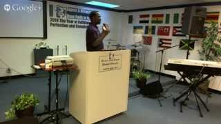 The Pastoral Epistles: GT Global Church (Pastor Marvin & Tara Reese)