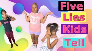 5 LIES KIDS TELL THEIR PARENTS screenshot 3