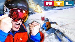 Endlich LERNE ich wie man richtig Ski fährt! | RTL Wintersport Simulator