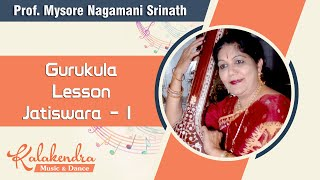 Learn Carnatic Music - Lesson Jatiswara